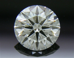 0.535 ct H SI1 A CUT ABOVE® Hearts and Arrows Super Ideal Round Cut Loose Diamond
