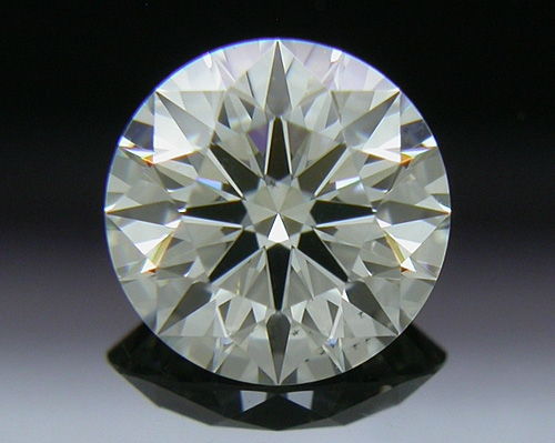 0.567 ct J VS2 A CUT ABOVE® Hearts and Arrows Super Ideal Round Cut Loose Diamond