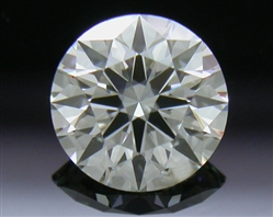0.50 ct I SI2 A CUT ABOVE® Hearts and Arrows Super Ideal Round Cut Loose Diamond