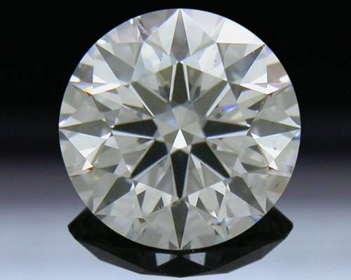 0.748 ct G VS2 A CUT ABOVE® Hearts and Arrows Super Ideal Round Cut Loose Diamond