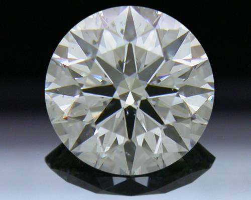 0.824 ct F SI1 A CUT ABOVE® Hearts and Arrows Super Ideal Round Cut Loose Diamond
