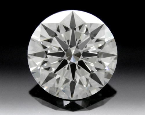 0.767 ct H SI1 A CUT ABOVE® Hearts and Arrows Super Ideal Round Cut Loose Diamond