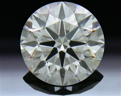 0.708 ct I SI1 A CUT ABOVE® Hearts and Arrows Super Ideal Round Cut Loose Diamond