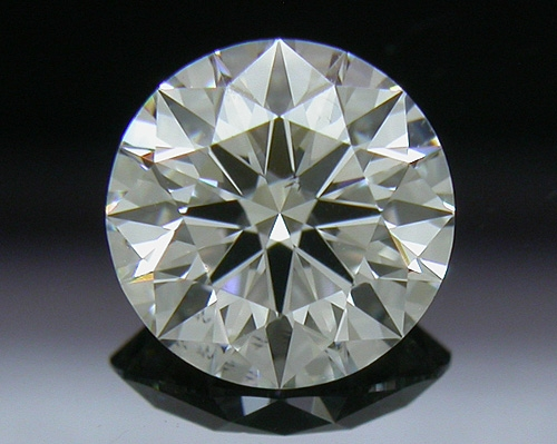 0.718 ct J SI1 A CUT ABOVE® Hearts and Arrows Super Ideal Round Cut Loose Diamond