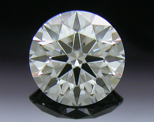 0.416 ct F VS1 A CUT ABOVE® Hearts and Arrows Super Ideal Round Cut Loose Diamond