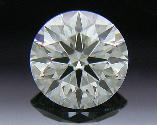 0.425 ct F VS2 A CUT ABOVE® Hearts and Arrows Super Ideal Round Cut Loose Diamond