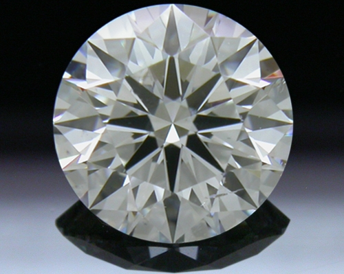 0.904 ct F SI2 A CUT ABOVE® Hearts and Arrows Super Ideal Round Cut Loose Diamond