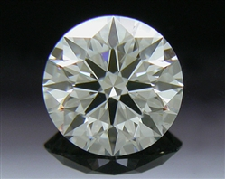 0.405 ct I VS2 A CUT ABOVE® Hearts and Arrows Super Ideal Round Cut Loose Diamond