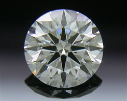 0.446 ct H SI1 A CUT ABOVE® Hearts and Arrows Super Ideal Round Cut Loose Diamond