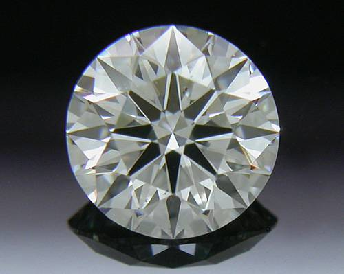 0.431 ct F SI1 A CUT ABOVE® Hearts and Arrows Super Ideal Round Cut Loose Diamond