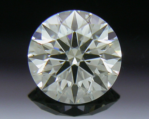 0.404 ct J VS2 A CUT ABOVE® Hearts and Arrows Super Ideal Round Cut Loose Diamond