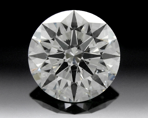 1.337 ct H SI1 A CUT ABOVE® Hearts and Arrows Super Ideal Round Cut Loose Diamond