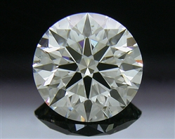 1.253 ct I SI1 A CUT ABOVE® Hearts and Arrows Super Ideal Round Cut Loose Diamond
