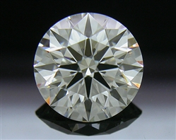 1.206 ct J VS2 A CUT ABOVE® Hearts and Arrows Super Ideal Round Cut Loose Diamond