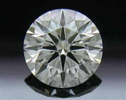 1.005 ct F VS1 A CUT ABOVE® Hearts and Arrows Super Ideal Round Cut Loose Diamond
