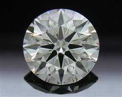 1.058 ct I SI1 A CUT ABOVE® Hearts and Arrows Super Ideal Round Cut Loose Diamond
