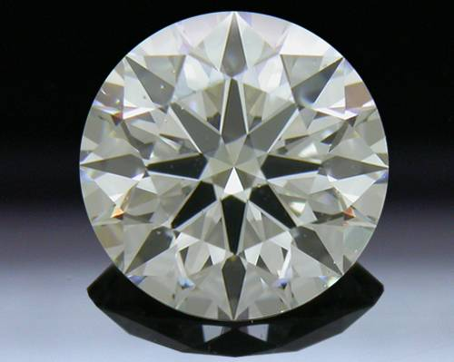 1.813 ct K SI1 A CUT ABOVE® Hearts and Arrows Super Ideal Round Cut Loose Diamond
