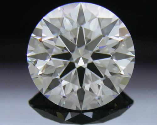 1.238 ct D SI1 A CUT ABOVE® Hearts and Arrows Super Ideal Round Cut Loose Diamond
