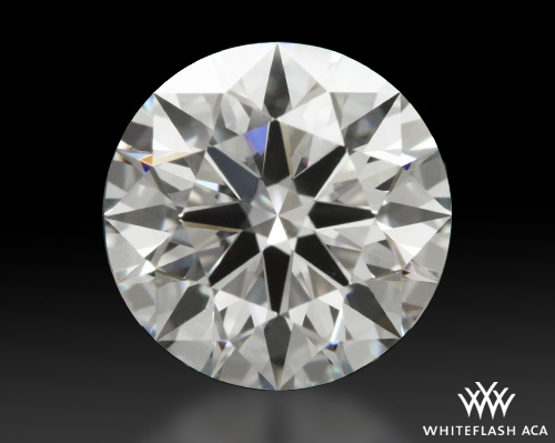 1.22 ct F VVS1 A CUT ABOVE® Hearts and Arrows Super Ideal Round Cut Loose Diamond