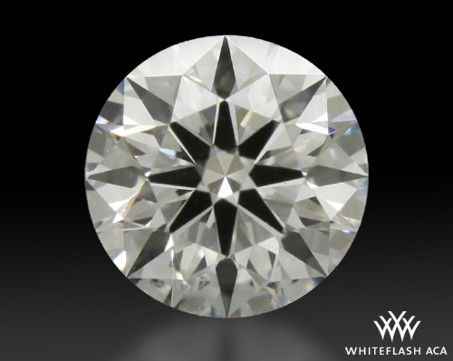 0.426 ct E SI1 A CUT ABOVE® Hearts and Arrows Super Ideal Round Cut Loose Diamond