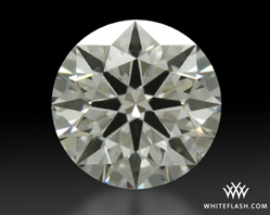 0.513 ct H VS1 A CUT ABOVE® Hearts and Arrows Super Ideal Round Cut Loose Diamond