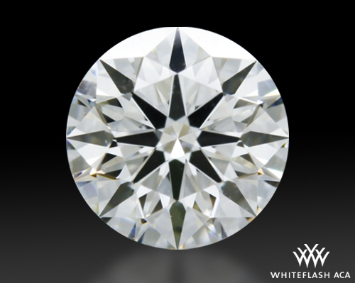 0.54 ct G VS2 A CUT ABOVE® Hearts and Arrows Super Ideal Round Cut Loose Diamond