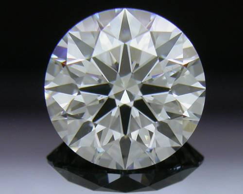 0.856 ct F VS2 A CUT ABOVE® Hearts and Arrows Super Ideal Round Cut Loose Diamond