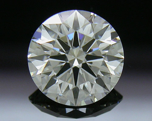 0.765 ct J VS1 A CUT ABOVE® Hearts and Arrows Super Ideal Round Cut Loose Diamond
