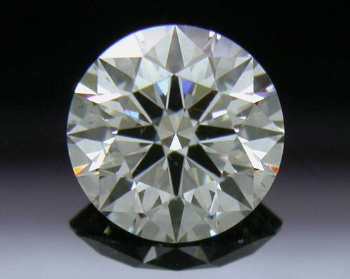 0.72 ct J SI1 A CUT ABOVE® Hearts and Arrows Super Ideal Round Cut Loose Diamond