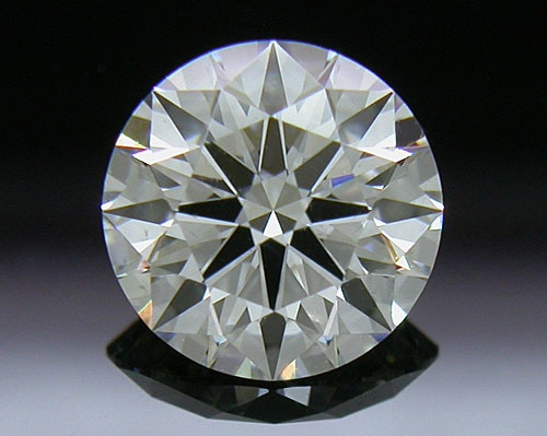 0.757 ct H VS2 A CUT ABOVE® Hearts and Arrows Super Ideal Round Cut Loose Diamond