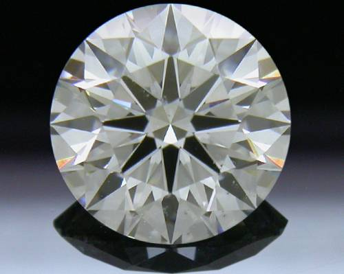 0.861 ct G SI1 A CUT ABOVE® Hearts and Arrows Super Ideal Round Cut Loose Diamond