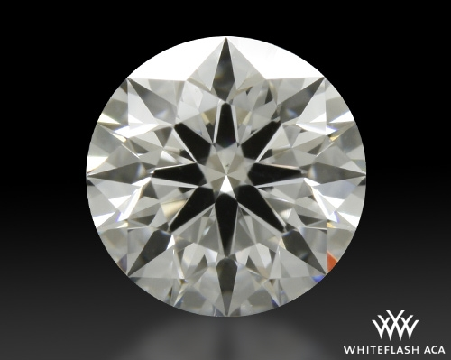 0.756 ct F VS2 A CUT ABOVE® Hearts and Arrows Super Ideal Round Cut Loose Diamond
