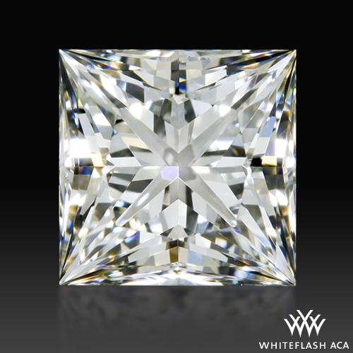 0.94 ct H VS2 A CUT ABOVE® Princess Super Ideal Cut Diamond