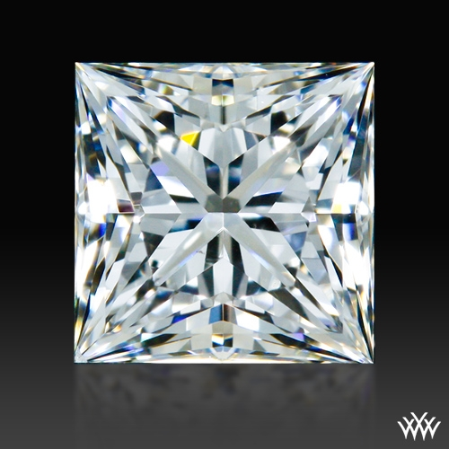 0.643 ct F SI1 A CUT ABOVE® Princess Super Ideal Cut Diamond