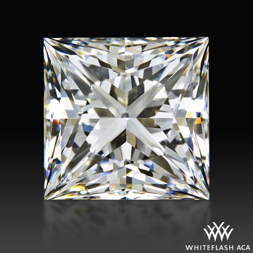 0.90 ct G VVS2 A CUT ABOVE® Princess Super Ideal Cut Diamond
