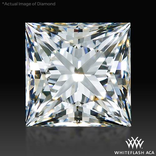 0.85 ct H VS1 A CUT ABOVE® Princess Super Ideal Cut Diamond
