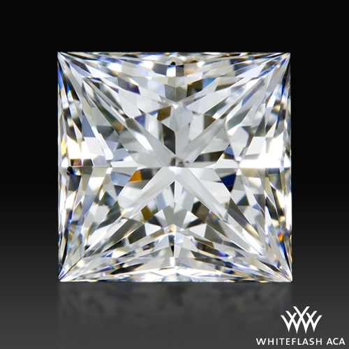 0.84 ct F VS2 A CUT ABOVE® Princess Super Ideal Cut Diamond