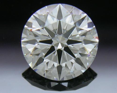 0.807 ct E VS2 A CUT ABOVE® Hearts and Arrows Super Ideal Round Cut Loose Diamond