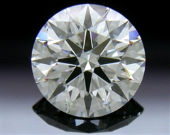 0.813 ct F VS2 A CUT ABOVE® Hearts and Arrows Super Ideal Round Cut Loose Diamond