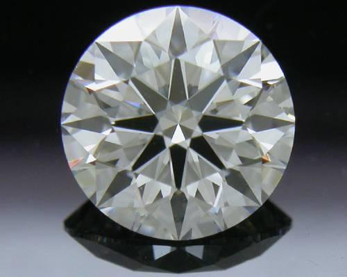 0.836 ct E VS2 A CUT ABOVE® Hearts and Arrows Super Ideal Round Cut Loose Diamond