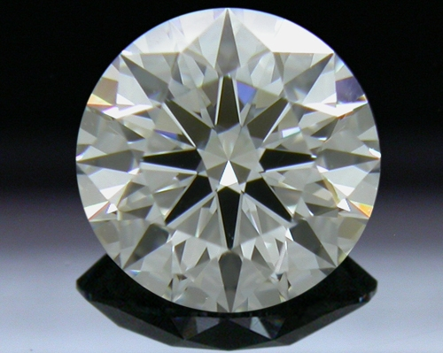 0.761 ct H IF A CUT ABOVE® Hearts and Arrows Super Ideal Round Cut Loose Diamond