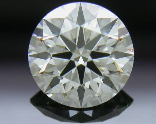 0.827 ct I VVS2 A CUT ABOVE® Hearts and Arrows Super Ideal Round Cut Loose Diamond