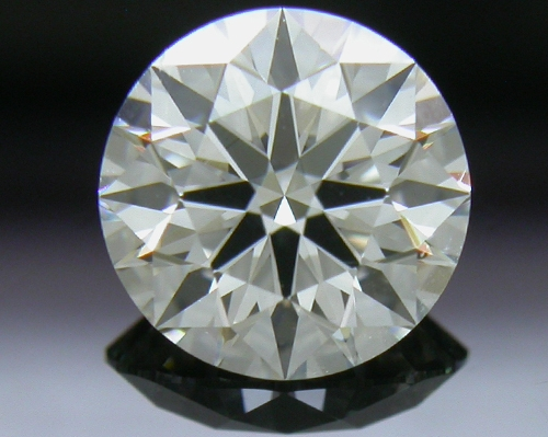 0.827 ct I VVS2 A CUT ABOVE® Hearts and Arrows Super Ideal Round Cut Loose Diamond