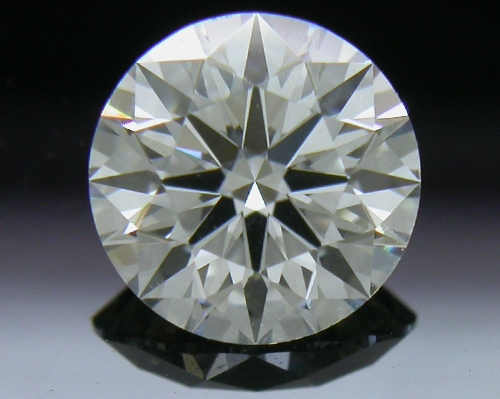 0.747 ct H VVS2 A CUT ABOVE® Hearts and Arrows Super Ideal Round Cut Loose Diamond