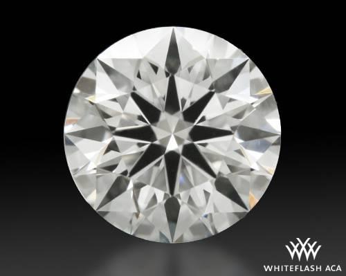 0.725 ct J VVS1 A CUT ABOVE® Hearts and Arrows Super Ideal Round Cut Loose Diamond