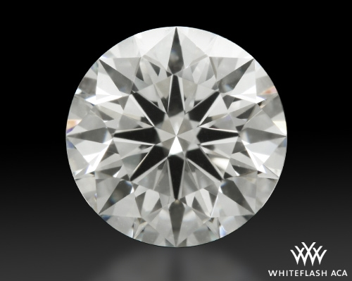 0.733 ct J VVS2 A CUT ABOVE® Hearts and Arrows Super Ideal Round Cut Loose Diamond