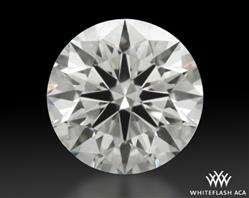 0.733 ct J VVS2 A CUT ABOVE® Hearts and Arrows Super Ideal Round Cut Loose Diamond