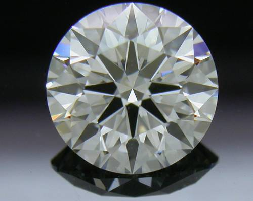 0.788 ct F VS2 A CUT ABOVE® Hearts and Arrows Super Ideal Round Cut Loose Diamond