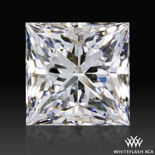 1.234 ct G SI1 A CUT ABOVE® Princess Super Ideal Cut Diamond