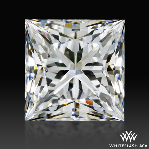 0.61 ct E VS1 A CUT ABOVE® Princess Super Ideal Cut Diamond